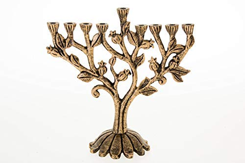 Aviv Judaica Hanukkah Train Menorah Design All Aboard The Hanukkah Train Menora for Kids /& Train Lovers Ceramic