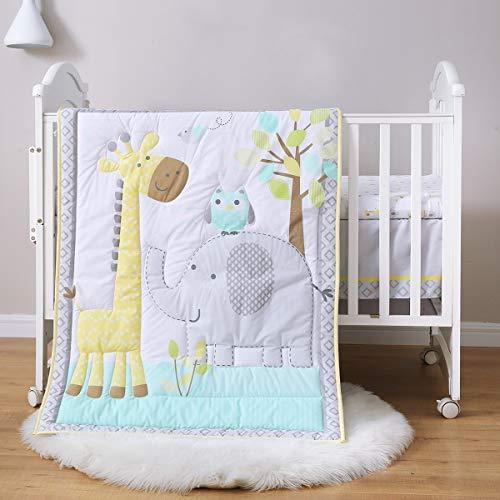 Spring Baby Crib Bedding Set 3 Piece