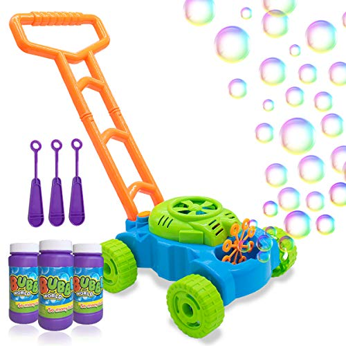 Lydaz Bubble Mower For Toddlers Kids Bubble Blower